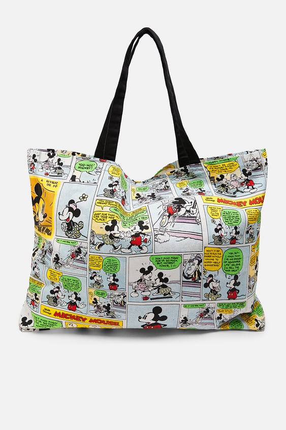 26a05069 MICKEY MOUSE © DISNEY TOTE BAG - View All-ACCESSORIES-WOMAN | ZARA ...