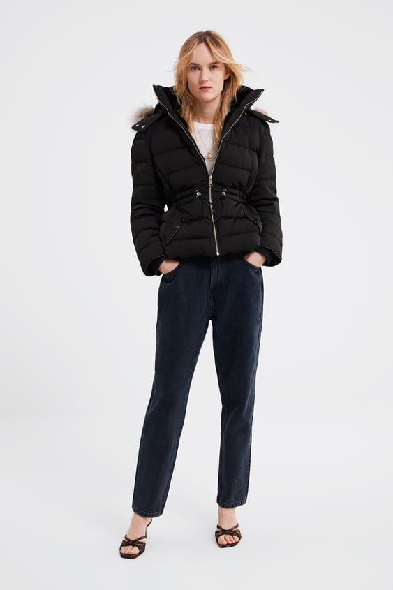 85a5d7c749 HOODED DOWN PUFFER JACKET