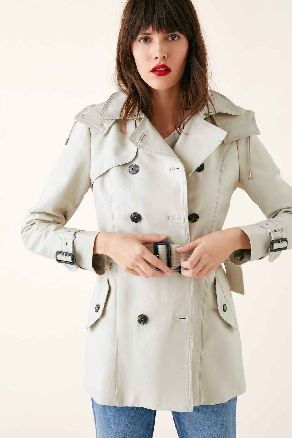 8fdb9147 ... Image 2 of WATER-RESISTANT TAILORED TRENCH COAT from Zara ...