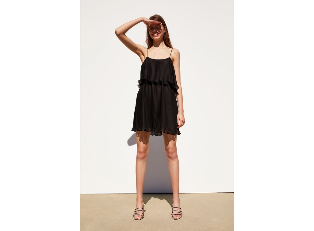 7bf57c92a82 PLEATED DRESS WITH STRAPS - Available in more colours