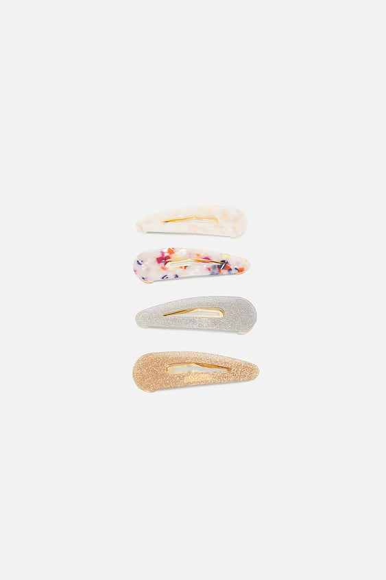 Pack Of Pearly Hair Clips  View All Accessories Woman by Zara
