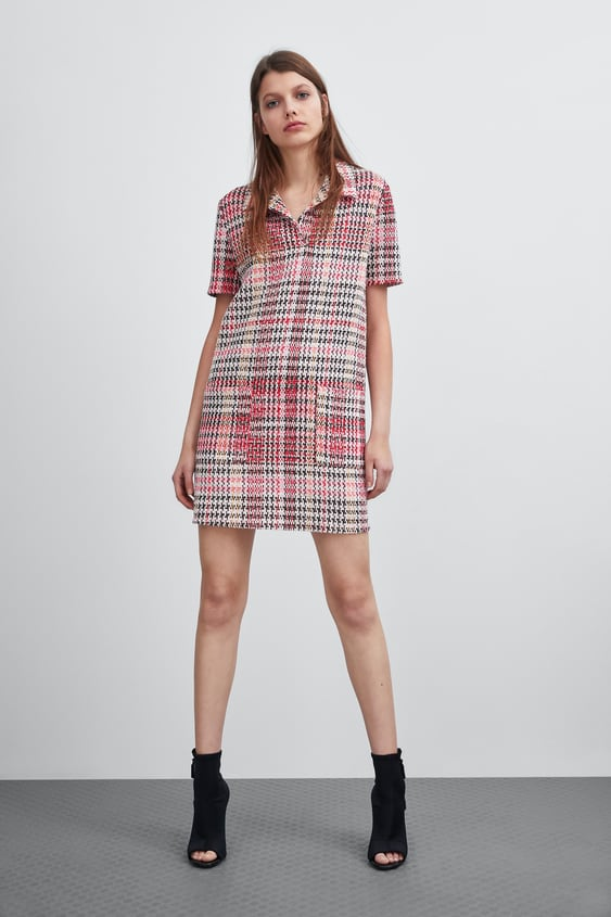 15da13fefa60 JACQUARD DRESS - View all-DRESSES-WOMAN | ZARA United Kingdom