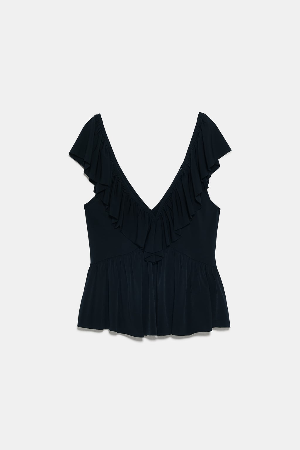 Image 8 of FRILLED T-SHIRT from Zara