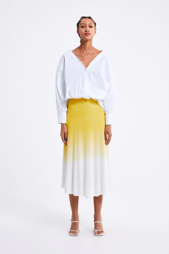 OmbrÉ Skirt  View All Skirts Woman by Zara