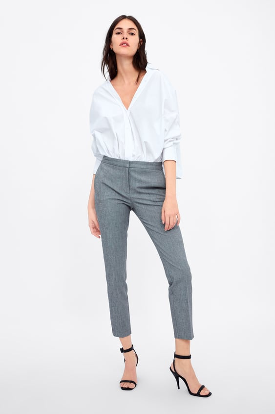 Jogging Pants With Side Stripe  New Inwoman New Collection by Zara