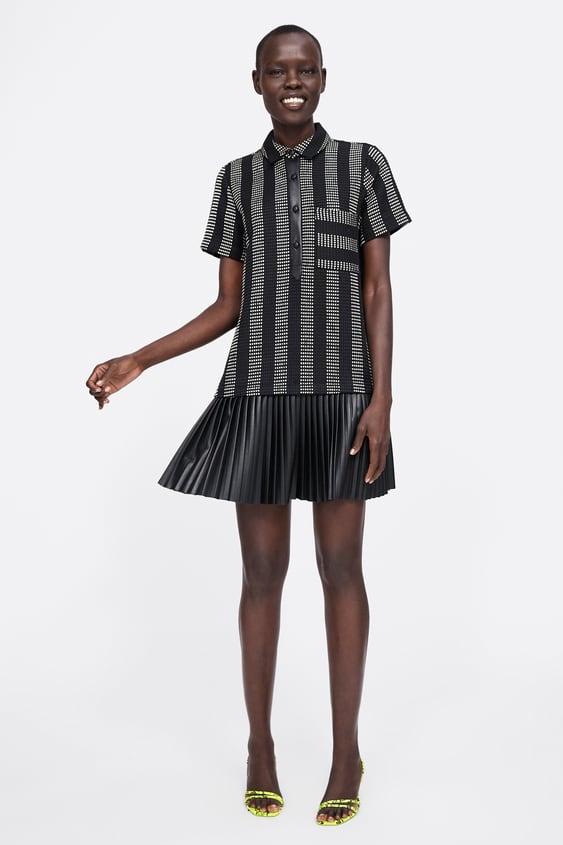4de63d37 TEXTURED WEAVE DRESS - Mini-DRESSES-WOMAN-SALE | ZARA United States