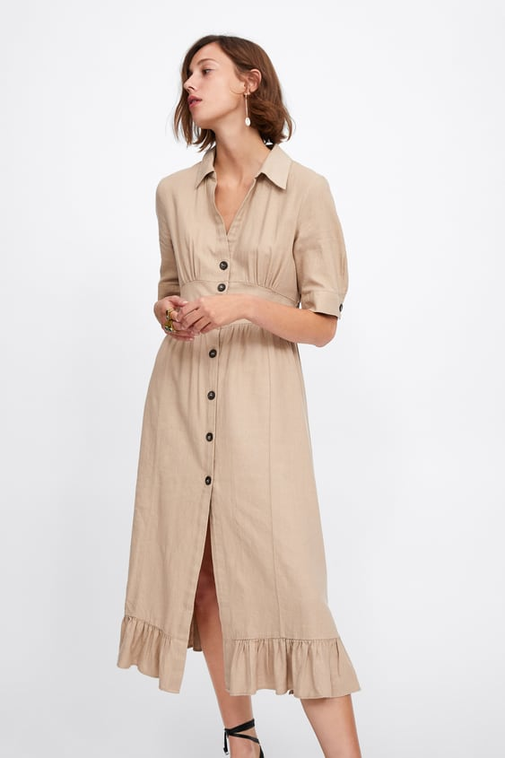 4742cca1fa9 RUSTIC SHIRT DRESS - View all-DRESSES-WOMAN-SALE | ZARA United States