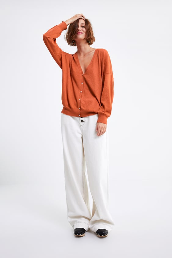 OVERSIZED KNIT CARDIGAN - Item available in more colors e1fc5af126