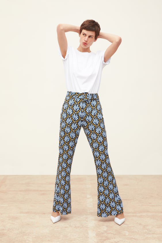 2f288f51 FLOWY PRINTED PANTS - Collection-TIMELESS-WOMAN-CORNER SHOPS-SALE ...