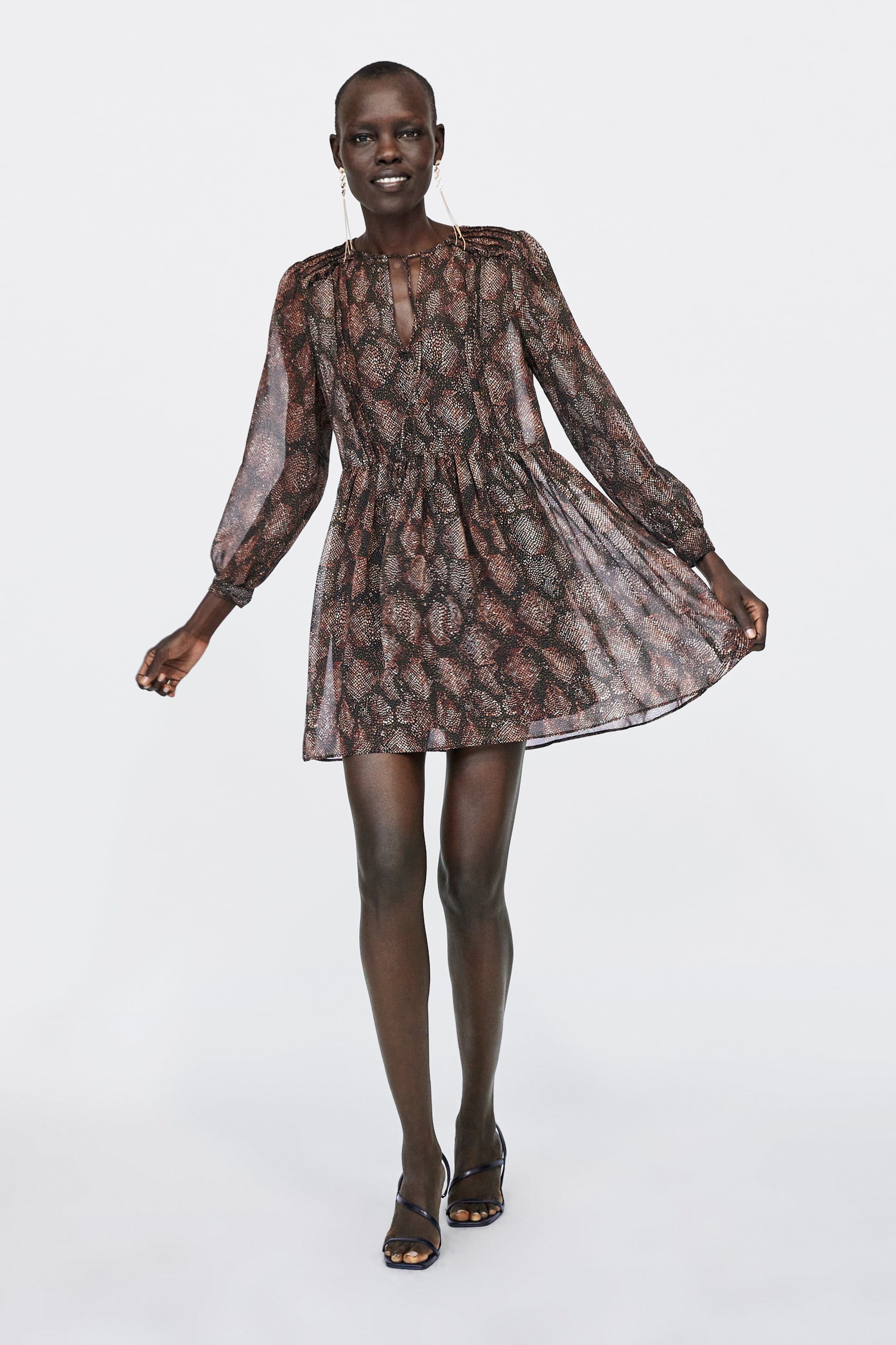 Printed Dress View All Dresses Woman New Collection by Zara