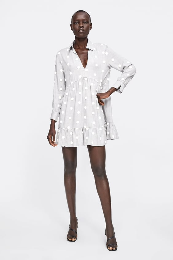 8bcdacef POLKA DOT DRESS - Mini-DRESSES-WOMAN-SALE | ZARA United States