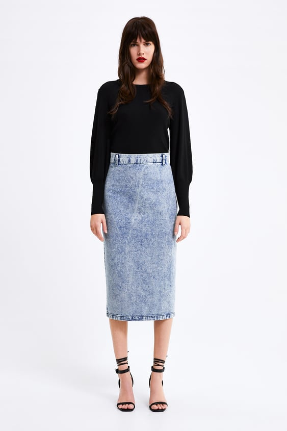 Sweater With Puff Sleeves Tops Knitwear Woman by Zara