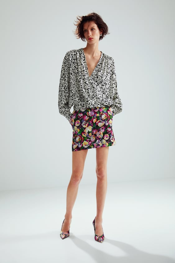 Limited Edition Printed Top  Collection Edit 01 Woman by Zara