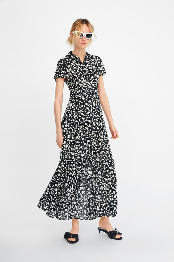 a48e0fe9 FLORAL PRINT DRESS - Maxi-DRESSES-WOMAN-SALE | ZARA United Kingdom