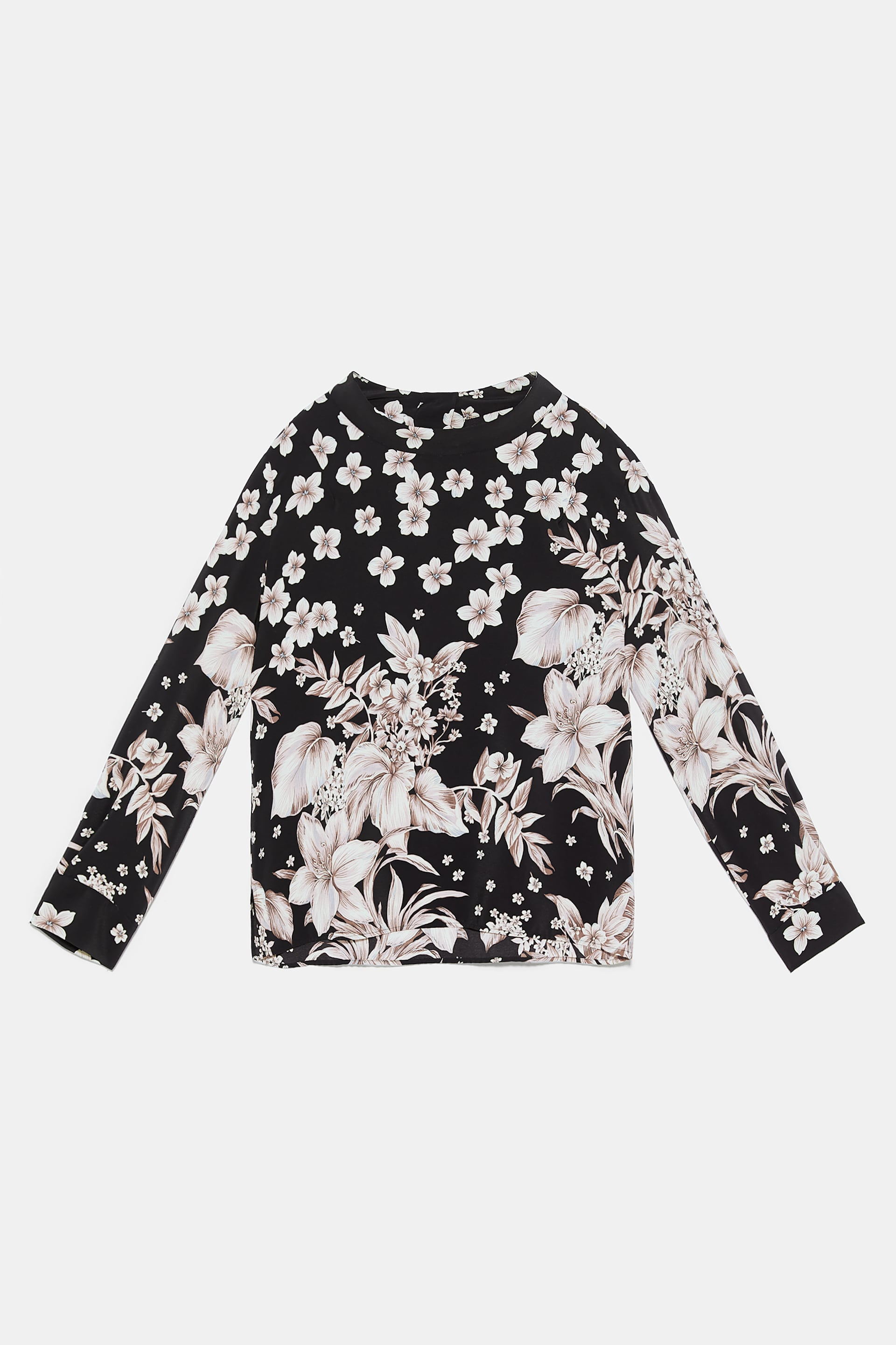 19f621e8 FLORAL PRINT TOP - Tops-SHIRTS | BLOUSES-WOMAN | ZARA International