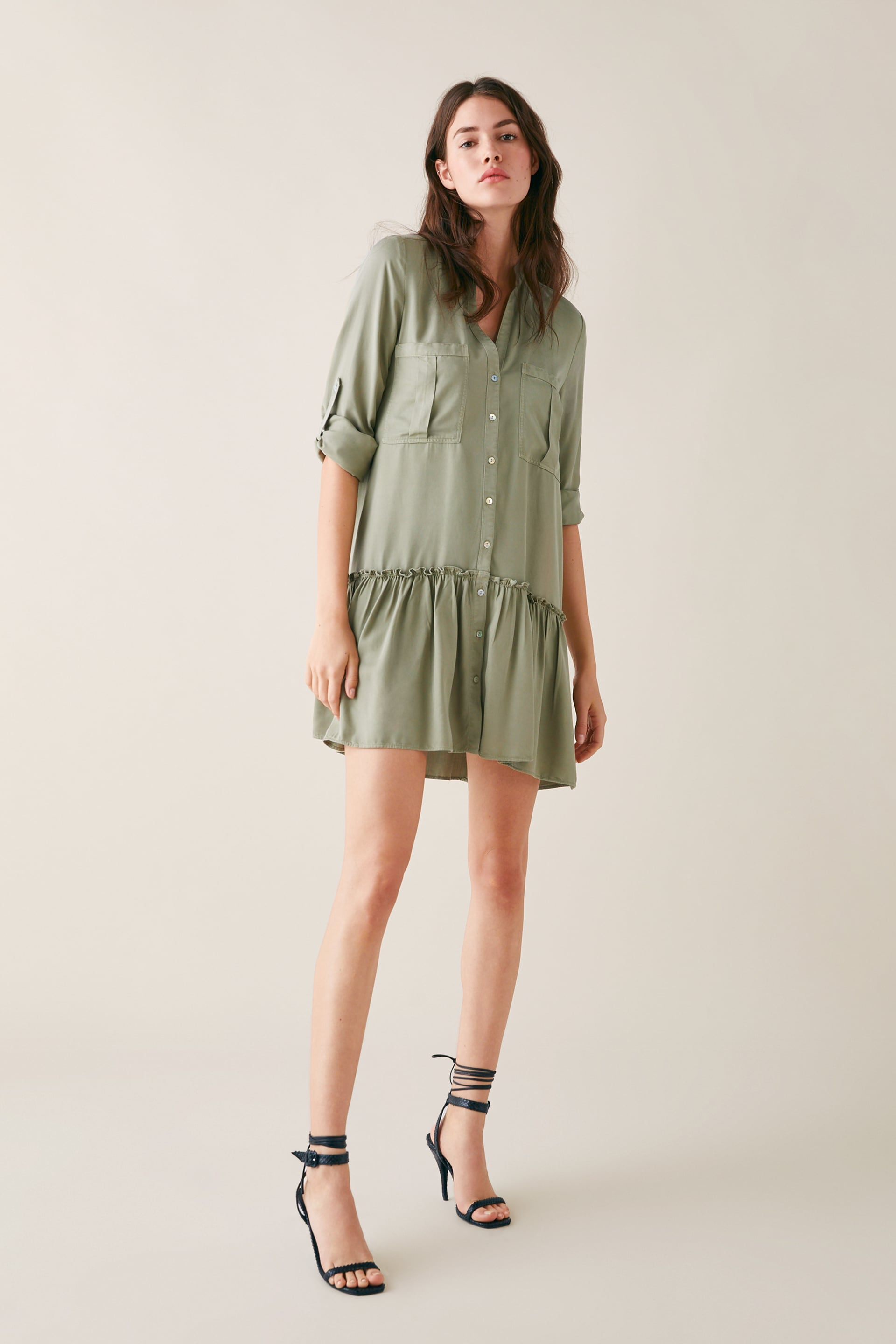 Dress With Pockets View All Dresses Woman by Zara