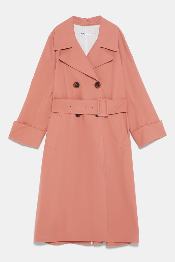 price remains stable no sale tax utterly stylish TRENCH COAT WITH BELT