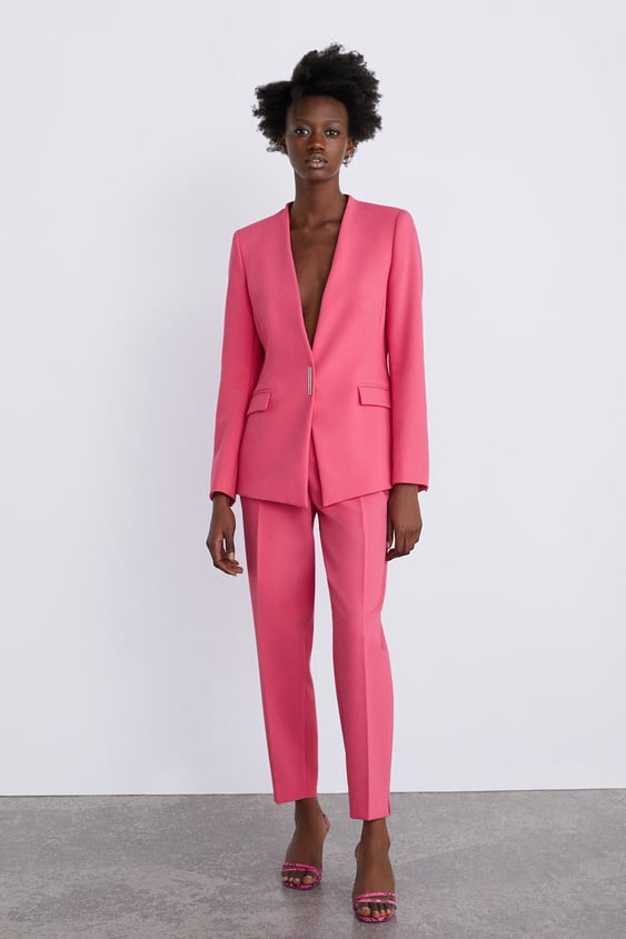 sports shoes 1a654 02d8e Image 1 of BLAZER WITH POCKETS from Zara