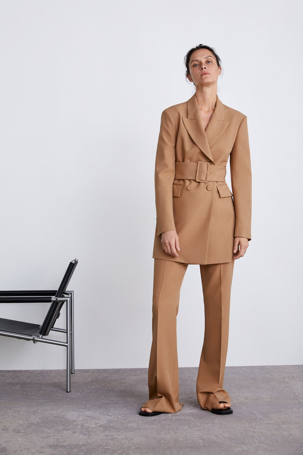 09b0a94f Shoptagr | Belted Jacket Collection Timeless Woman Corner Shops by Zara