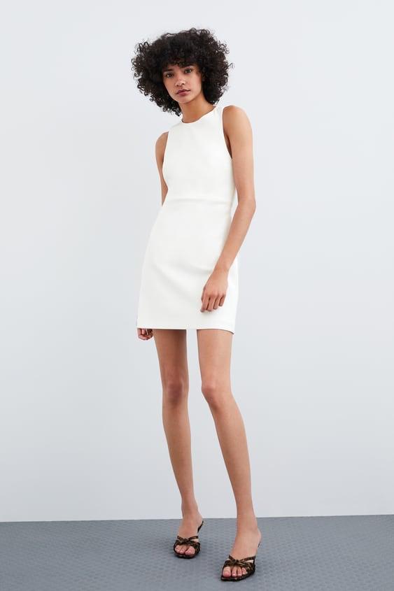 1ea1186ef0de Image 1 of CROSSED BACK DRESS from Zara