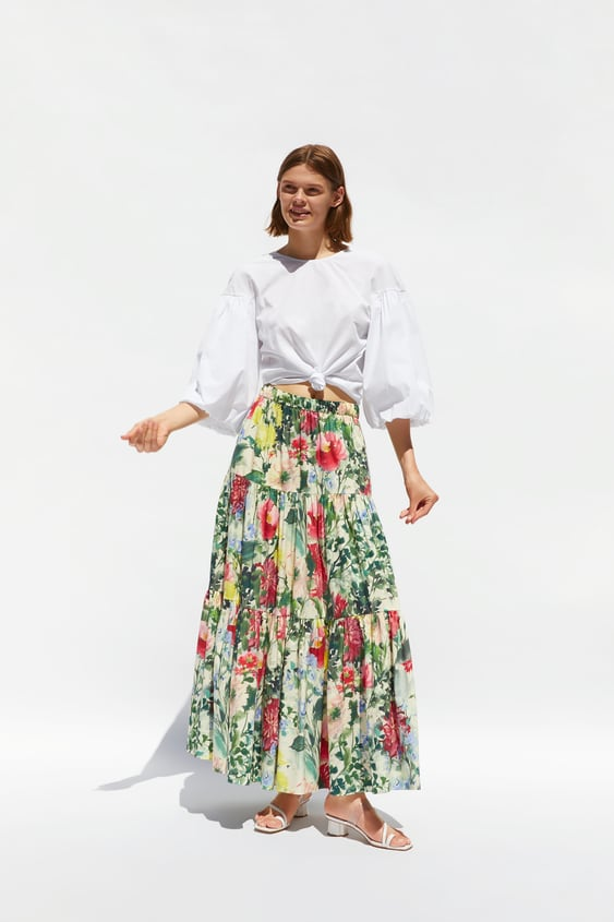 7f3820202f173 Women's Midi Skirts | New Collection Online | ZARA Spain
