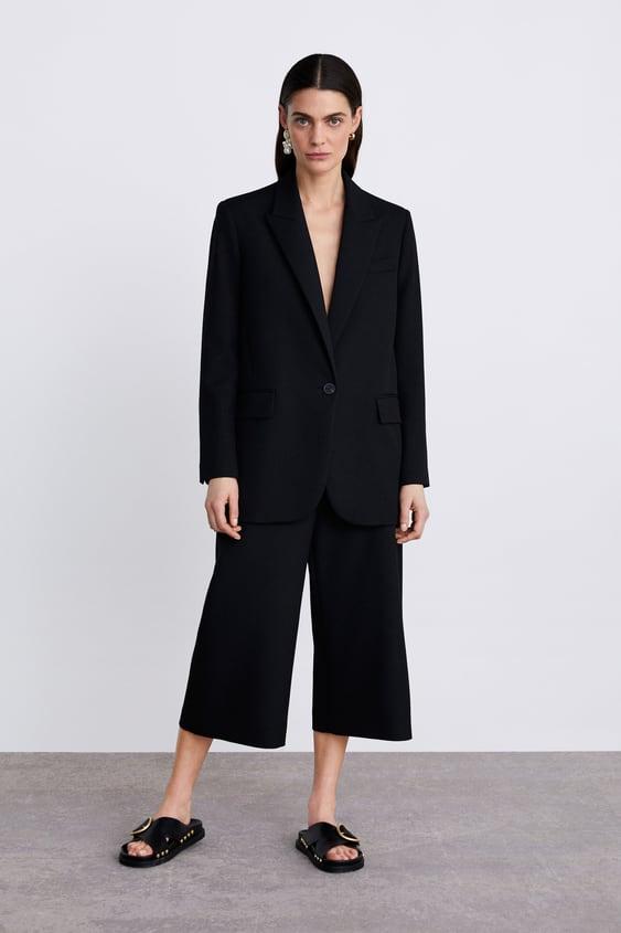0aa939dc69 Shoptagr   Buttoned Oversized Blazer New Inwoman by Zara