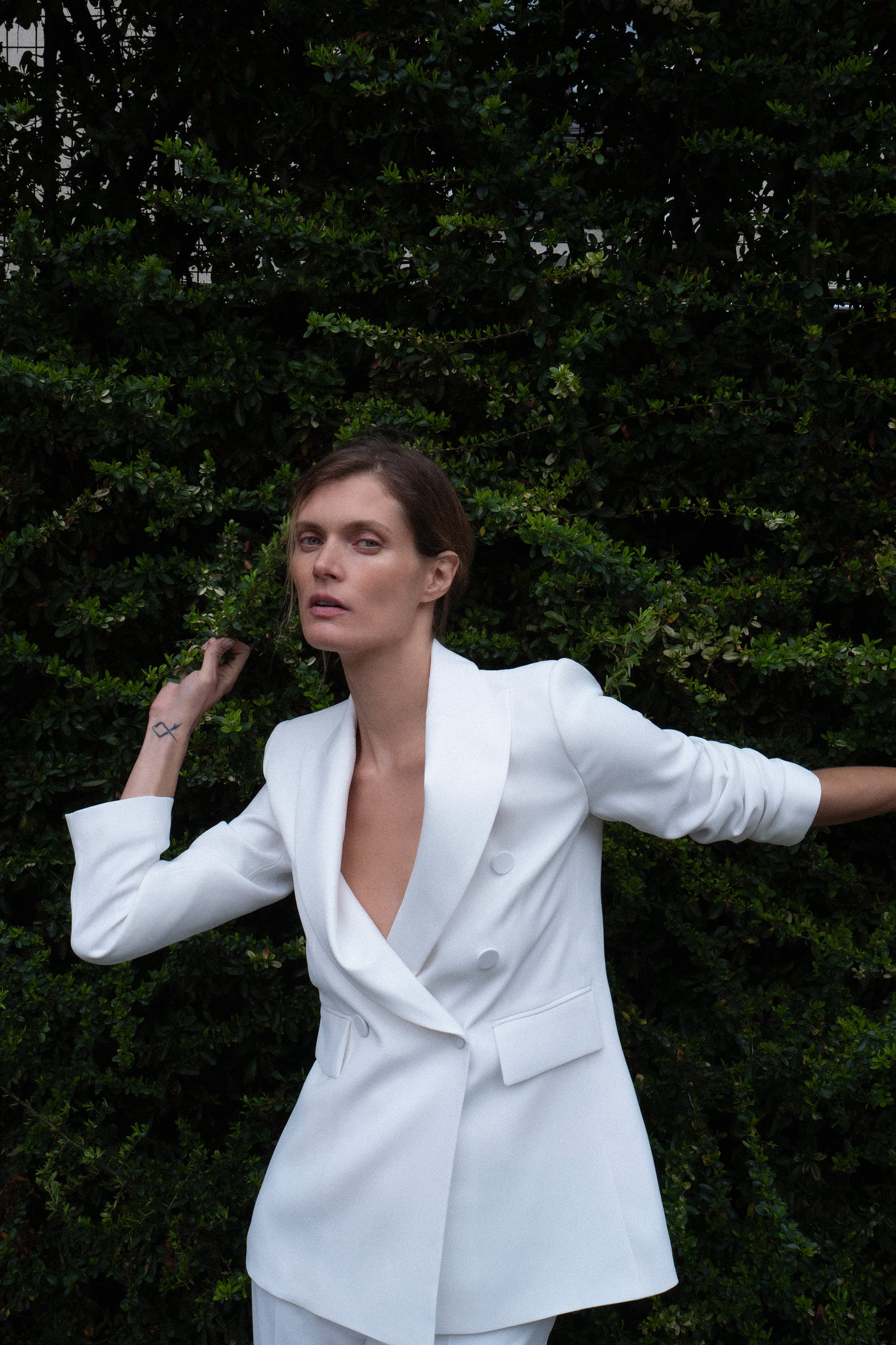 Image 1 of TUXEDO JACKET from Zara