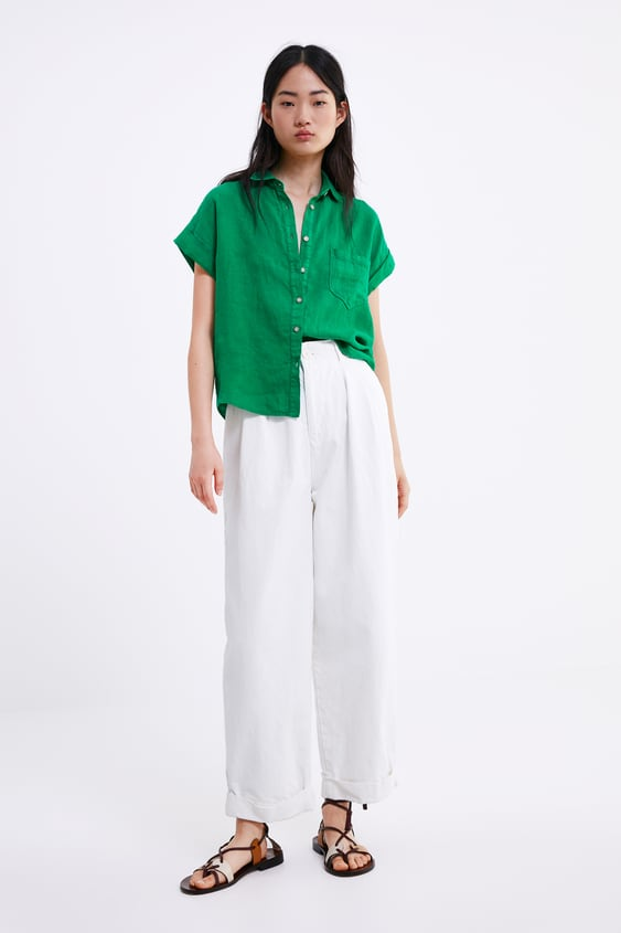 09a4e648 Women's Shirts | New Collection Online | ZARA United States