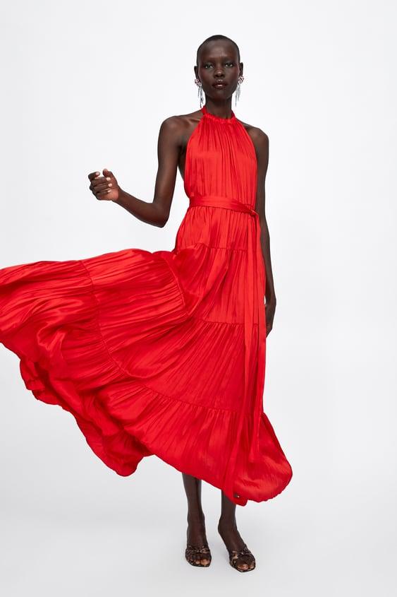 78cda658d5ad Shoptagr | Halter Top Dress New Inwoman by Zara
