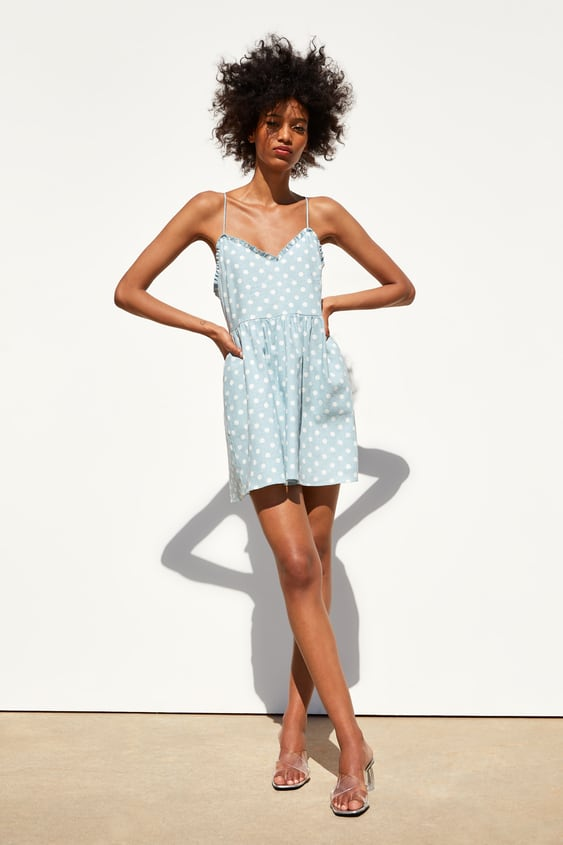 34006954 POLKA DOT DRESS - Mini-DRESSES-WOMAN-SALE | ZARA United States