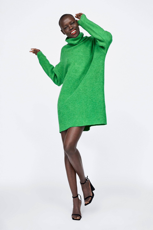 e41f9405 Shoptagr   Oversized Soft Feel Dress View All Knitwear Woman by Zara