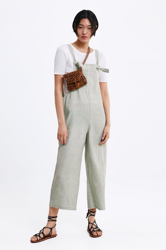 mejor selección de bastante agradable hacer un pedido Shoptagr   Mono Ancho Bolsillo Monosrebajas Mujer by Zara