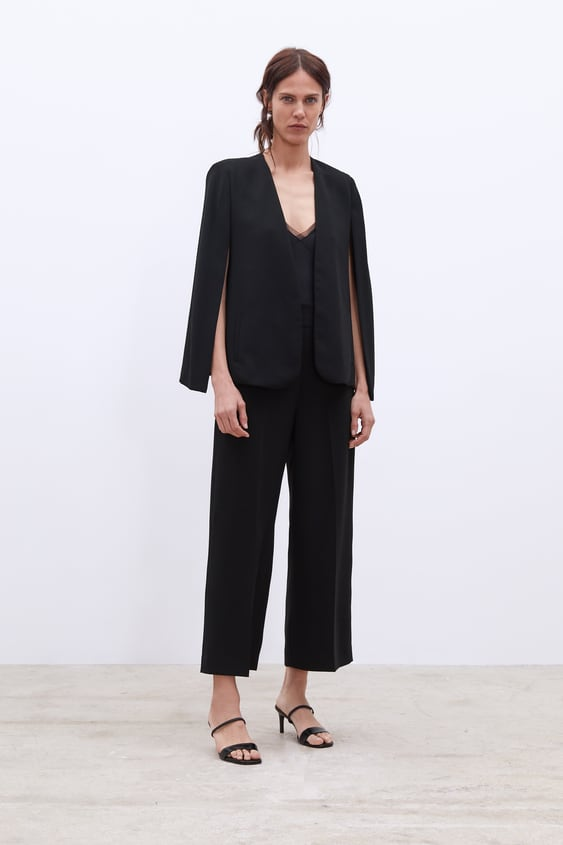 Cape With Slits  New Inwoman New Collection by Zara