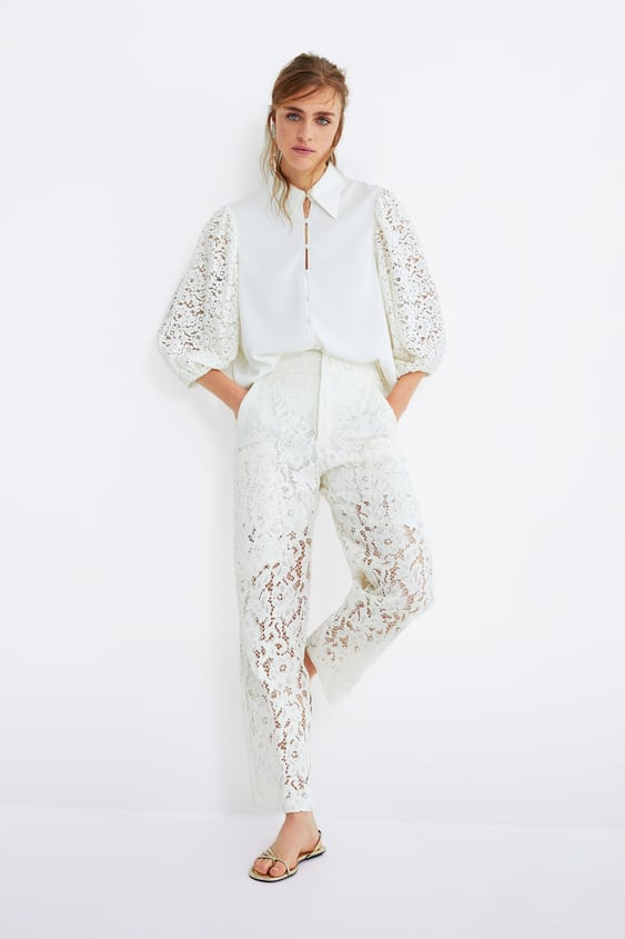 870a311ad40e Women's Trousers | New Collection Online | ZARA United Kingdom