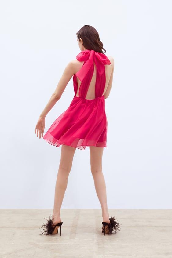 bfad515aa2fc ORGANZA MINI DRESS - DRESSES-WOMAN   ZARA United Kingdom