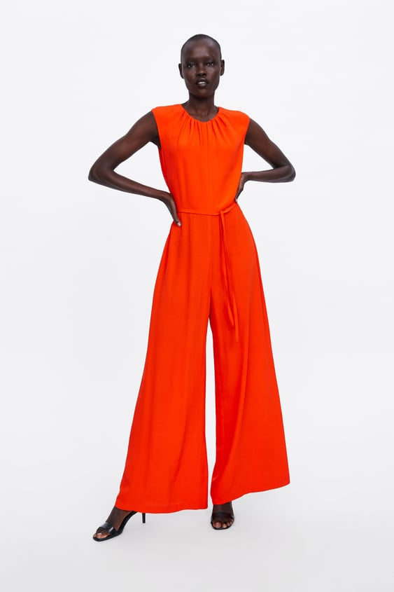 5f0d5458cc6 Image 1 of OPEN BACK JUMPSUIT from Zara
