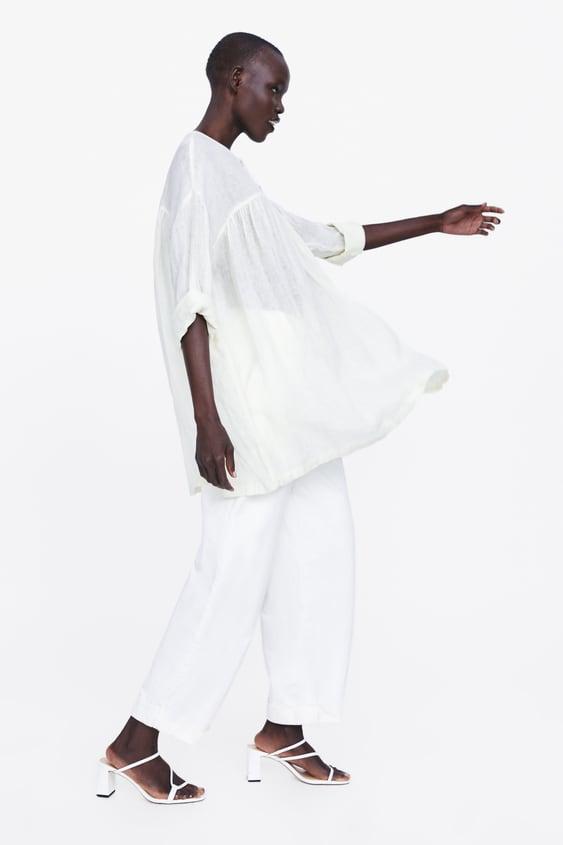 96bcdf45de50 Women's Shirts & Blouses | Online Sale | ZARA Ireland