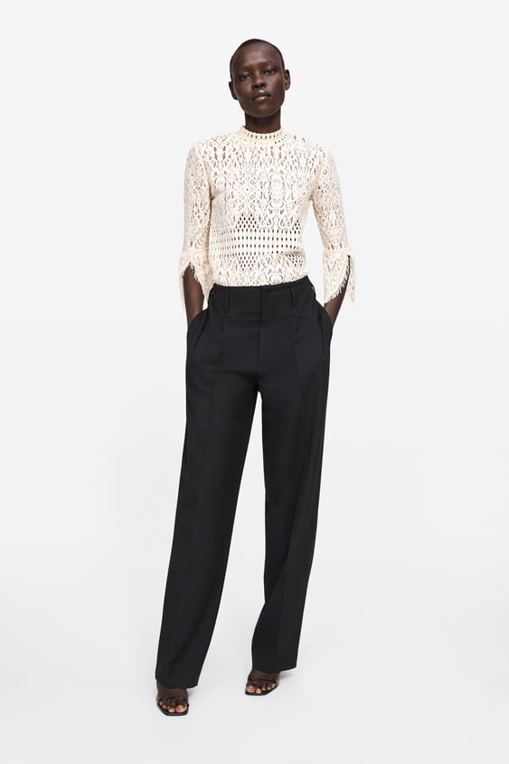 Lace Top  View All Tops Woman by Zara