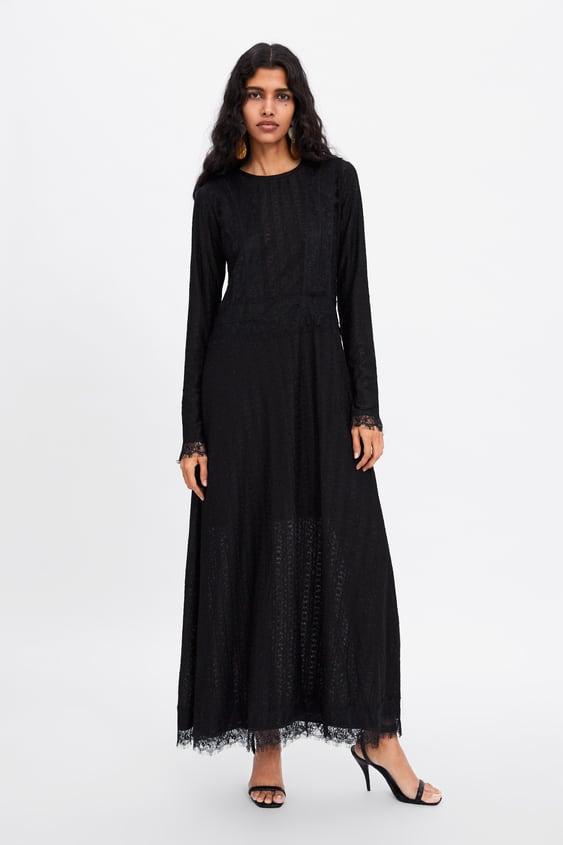 2162a486 LONG LACE DRESS - View all-DRESSES-WOMAN | ZARA United Kingdom
