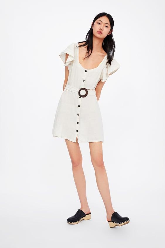 e1031d50 DRESS WITH BELT - Mini-DRESSES-WOMAN | ZARA United Kingdom