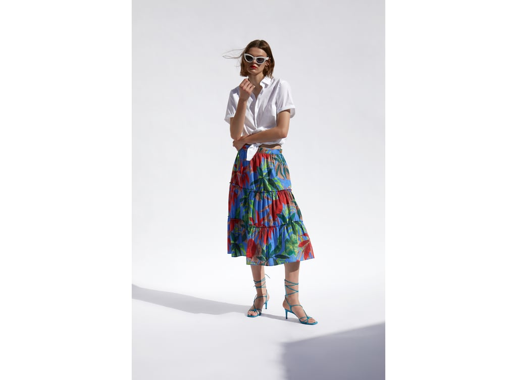 5670c64b71c TROPICAL PRINT SKIRT
