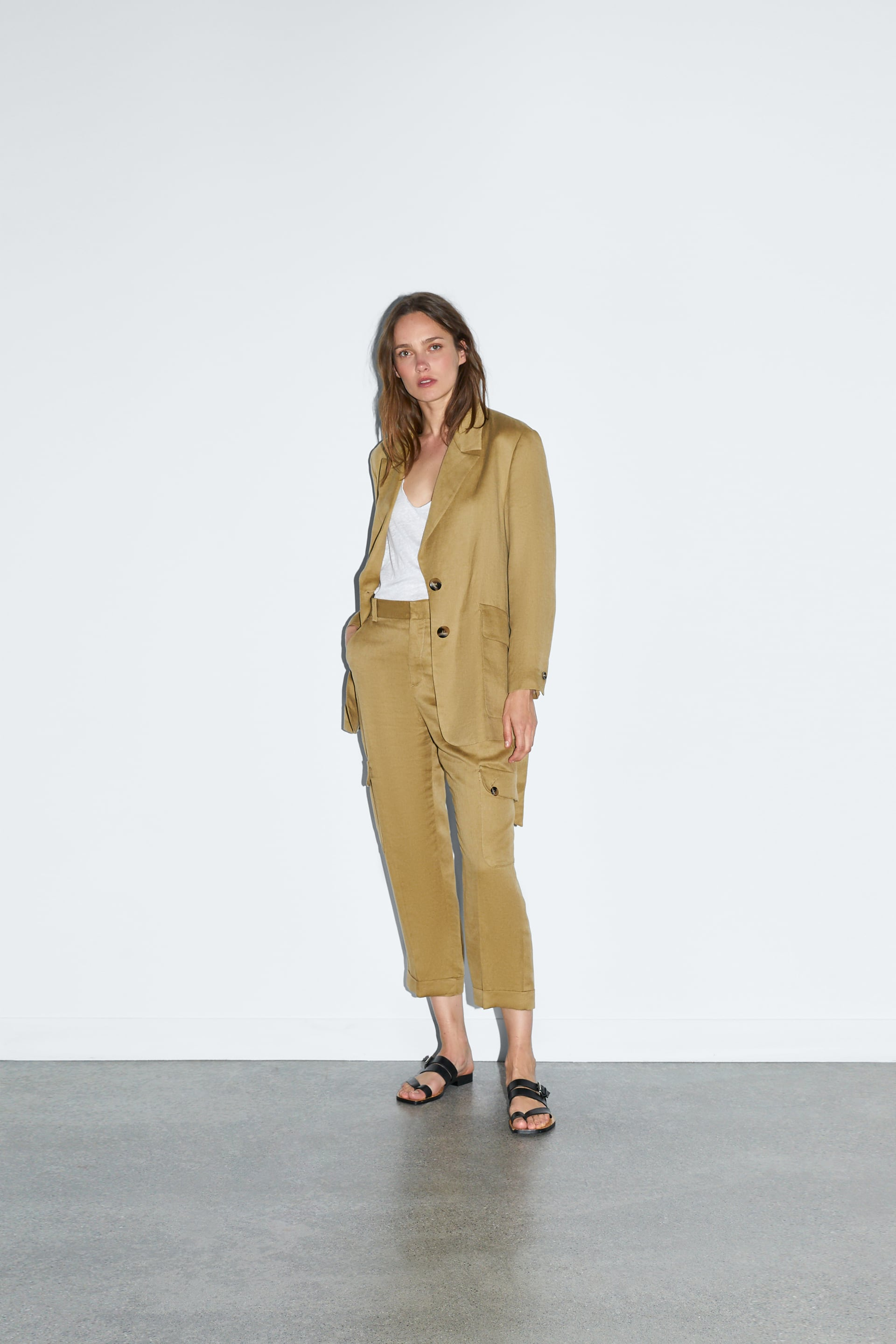 2dd527d1 CARGO TROUSERS - Collection-TIMELESS-WOMAN-CORNER SHOPS | ZARA India