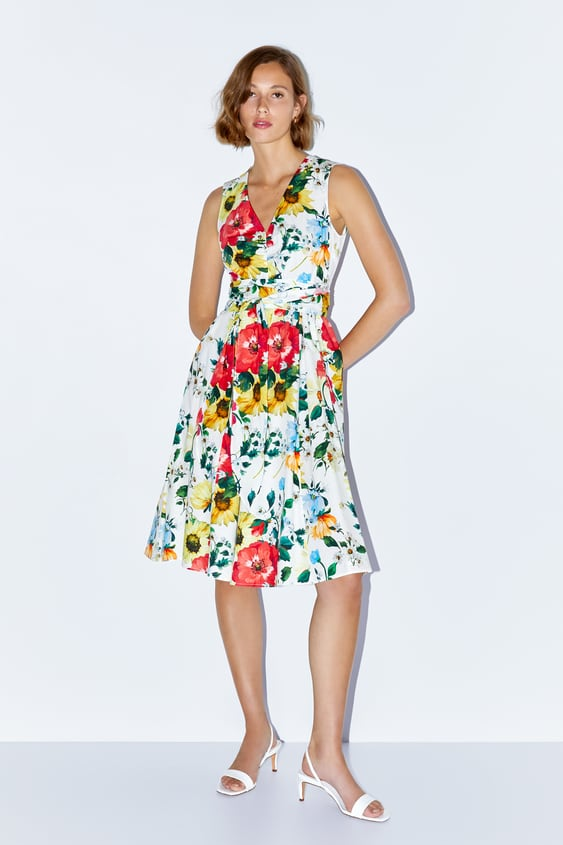 83c72a5781a65c JURK MET BLOEMENPRINT - Cocktail-DRESS TIME-DAMES-CORNER SHOPS ...