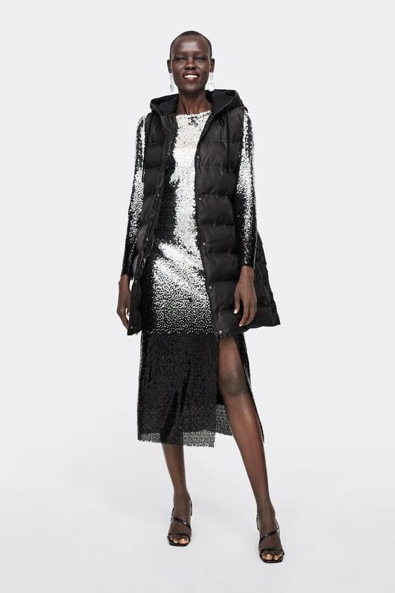 Padded Gilet With Hood  Puffers Coats Woman by Zara