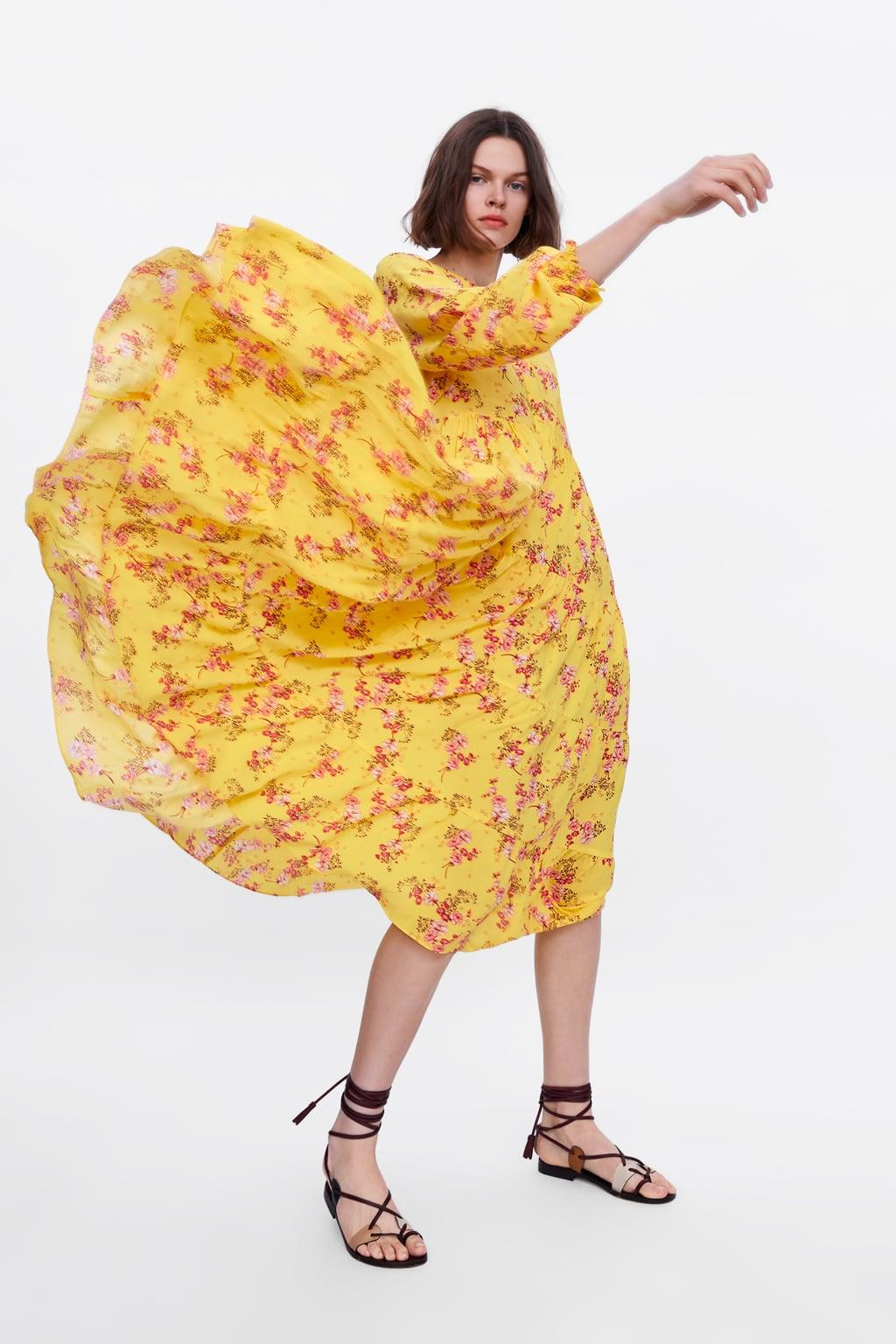 55cb8a0f Shoptagr | Floral Print Dress Maxi Dresses Woman by Zara