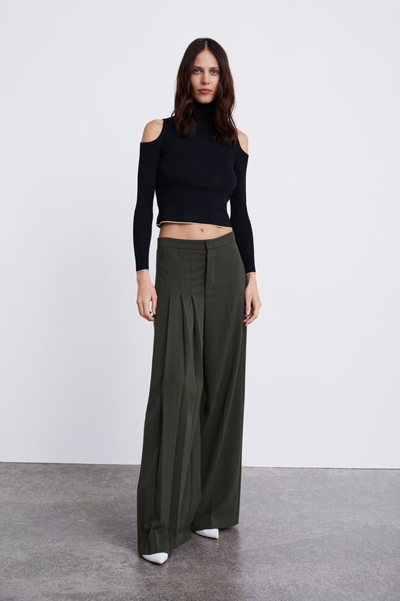 Off  Theshoulder Sweater View All Trousers Woman Sale by Zara