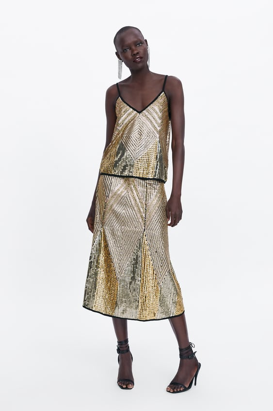 9a5d58bb2eb LIMITED EDITION SEQUIN TOP - Sequins-DRESS TIME-WOMAN-CORNER SHOPS ...