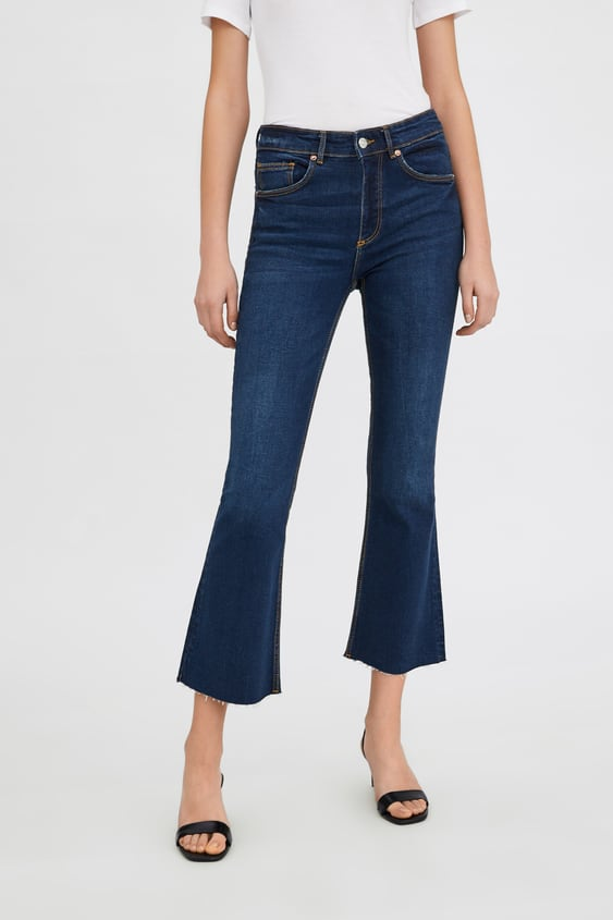 b2093b15 CROPPED FLARE MID - RISE JEANS-Flared-JEANS-WOMAN | ZARA Sweden