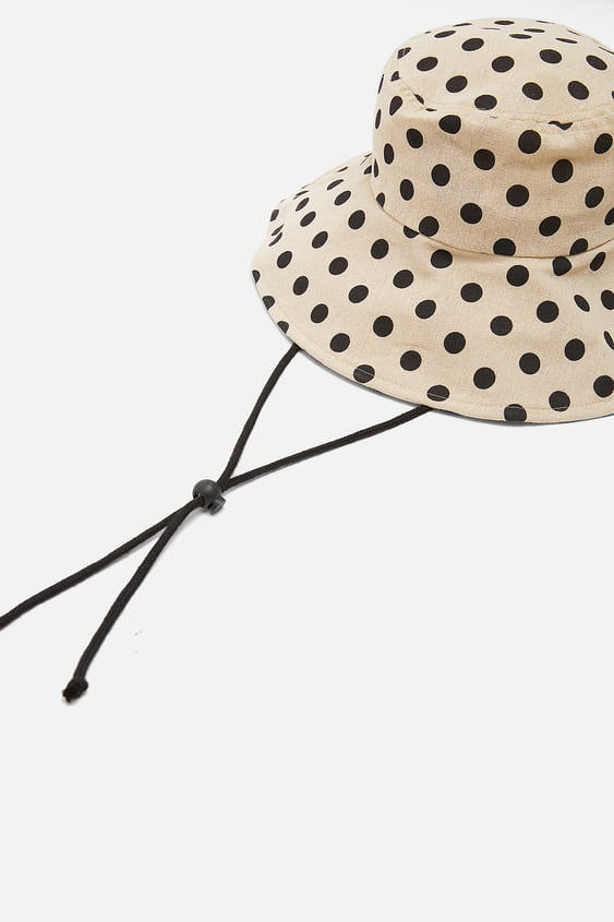 8ffe338d5370a LIMITED EDITION POLKA DOT BUCKET HAT - View All-ACCESSORIES-WOMAN ...