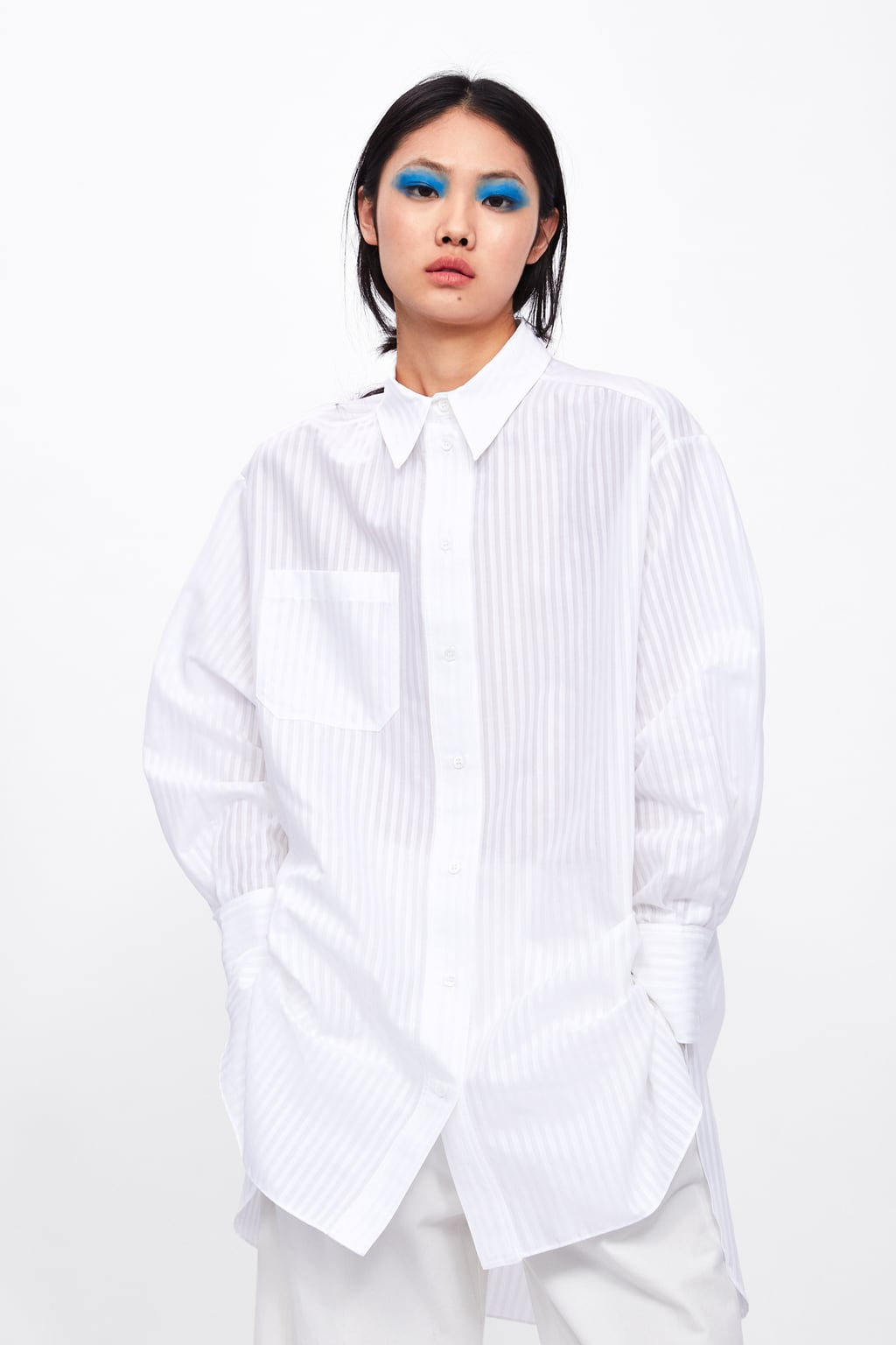2f987958eb OVERSIZED SHIRT WITH POCKET-STARTING FROM 70% OFF-SALE-WOMAN | ZARA ...